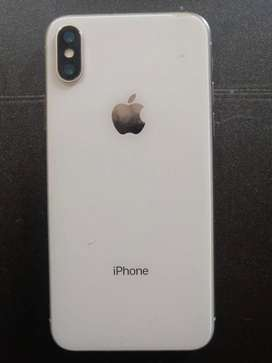 Iphone X 64 gb water resistant PTA with Box and charger