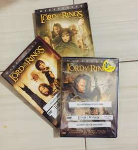 Dvd film trilogi the Lord of the Rings