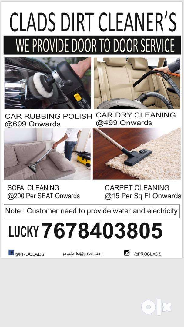 Car Dry Cleaning , sofa cleaning , rubbing polishing , carpet cleaning 0