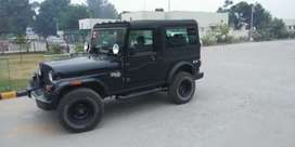 MAHINDRA THAR BLACK COLOUR .. SINGLE HAND USED BY DOCTOR .