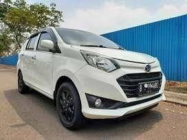 Daihatsu Sigra 1.2 X MT 2016 TDP10jt pajak 12-2020 nopol B Tangsel