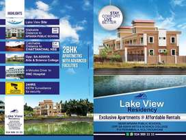 2 BHK APARTMENTS AVAILABLE MONTHLY RENT 8000 RS