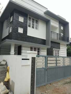 3 bhk 1300 sqt new build at edapally varapuzha thathapally  rod 100 mr