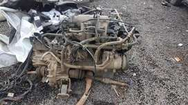 Hyundai accent engine full assembly