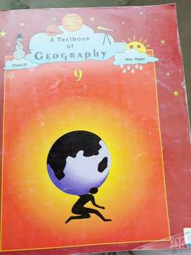 Class 9 geography book ISCE syllabus written by Rita Rajen