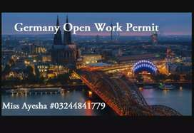 Germany work permit  avalibel