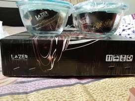 Glass Bowl set premium quality