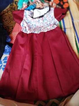 Jual murah baju dress anak 3 tahun
