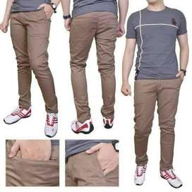 Celana Chinos Chino Pants Skinny fit Polos Size 27-45 Lengkap Jumbo