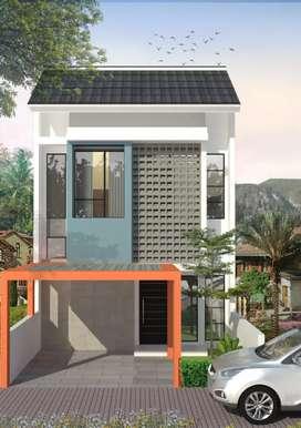 Rumah baru 2 lantai promo louncing 300 juta-an di buahbatu bandung