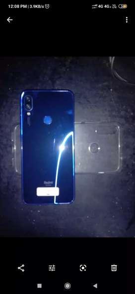 Redmi note 7 color blue