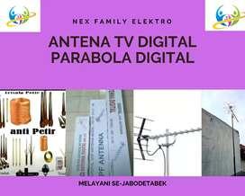 Teknisi Instalasi Pasang Sinyal Antena Tv Digital Siap Tayang