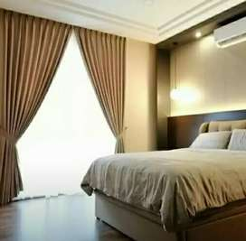Desain gorden Mewah Vitrase Vertical curtain blinds