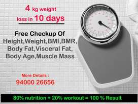 4 kg weight  loss in 10 days