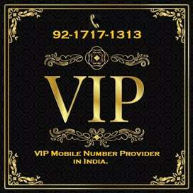 Deals in ALL VIP MOBILE NUMBERS