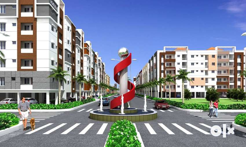 90% Loan Available for 1 BHK Apartment Flats @ GANNAVARAM ,VIJAYAWADA. 0