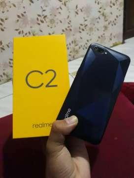 Realme C2 3/32 fullset no minus no nego/ tawar!