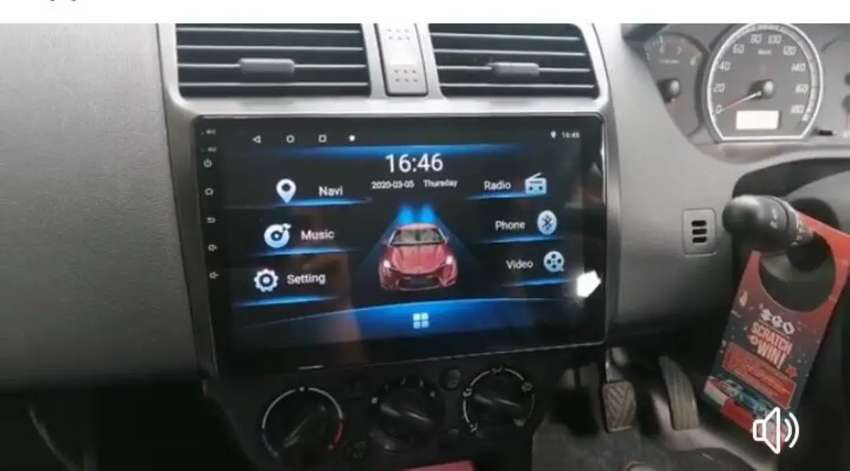 Suzuki Swift Android Navigation Panel