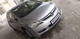 Honda civic with avg of 15 km