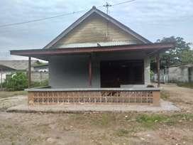 Dijual rumah & tanah, luas 21.5 x 25 meter, di pangkalbalam pkpinang.
