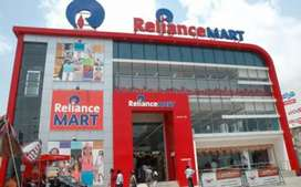 Requirement for  Reliance mall sales job in the Ranchi