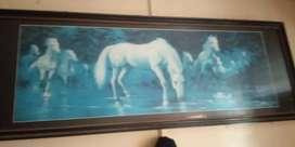 Lukisan kuda putih