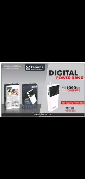 POWER BANK AND FREE ONE EAR PHONE RS 150