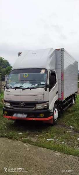 Jual truk box aluminium CDD 6 ban thn 2012