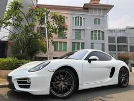 Porsche Cayman 2.7 PDK 981 Coupe 2013 Nik13 White On Red Km10rb Antik