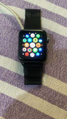 Apple Series 2 Sell Karna he with extra metal strap , charger, Box