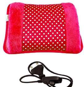 Electric Heat Bag with Fur Velvet With Hand Pocket