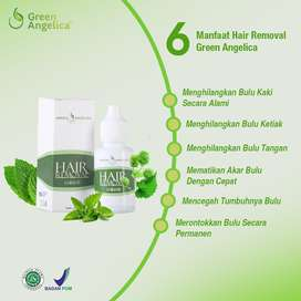 Hair Removal Perontok Bulu Permanen Penghilang Bulu Ampuh ALAMI ASLI