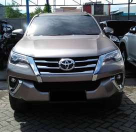 TOYOTA FORTUNER 2.4 VRZ 4X2 AT COKLAT TUA METALIK 2016