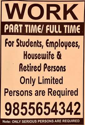 Work Part Time nd Full Time