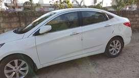 Hyundai verna fluidic diesel top model