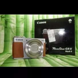 Canon G9X mark ii Like New sekali