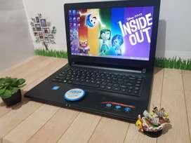Laptop Lenovo Ideapad 300 Hitam Quadcore