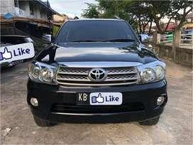 Harga Terbaik! Toyota Fortuner 2.7 g.lux AT 2005 Hitam Metalik