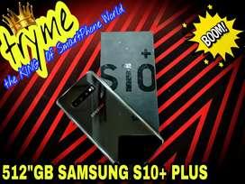 TRYME 512GB SAMSUNG S10+ Plus Ceramic fUll Kit Box Brand New Condition