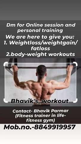 Gym / fitness training