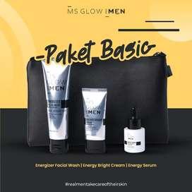 [SIAP KIRIM] PAKET BASIC MS GLOW FOR MEN