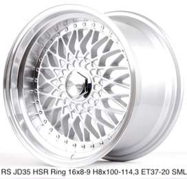 forum motif RS JD35 HSR R16X8/9 H8X100-114,3 ET37/20 SML