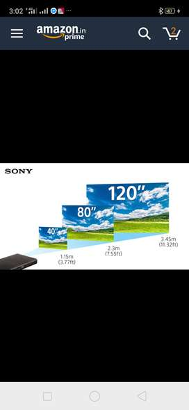 New Sony Mobile projector for sale