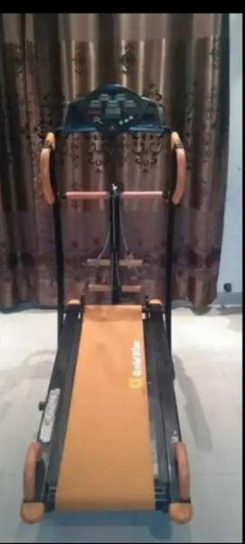 Mannual treadmill 3 in 1 trademill jogging running exercise machine