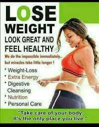 Loss weight in a healthy way