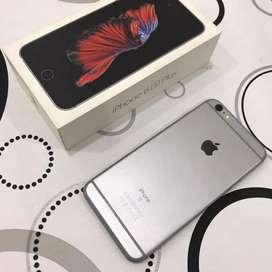 iphone 6s plus 16gb grey fullset ori