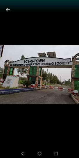ICHS  Town Islamabad all size commercial and residential plots.