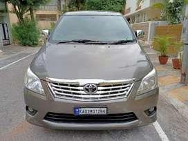Toyota Innova 2.5 GX (Diesel) 7 Seater, 2012, Diesel