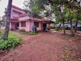 ROAD SIDE 15 cent land with house near hospital