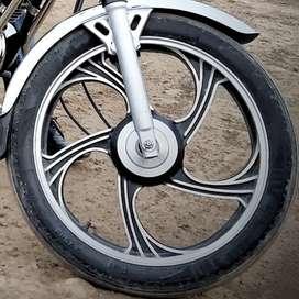 Yamaha RX100. Rx135 RXG RXZ Mac wheel 2 month old fresh condition